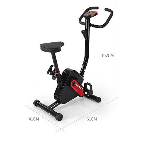 SENCILLON Indoor Exercise Bike Folding Exercise Bikes Semi-Recumbent Exercise Bike with Calorie Consumption...