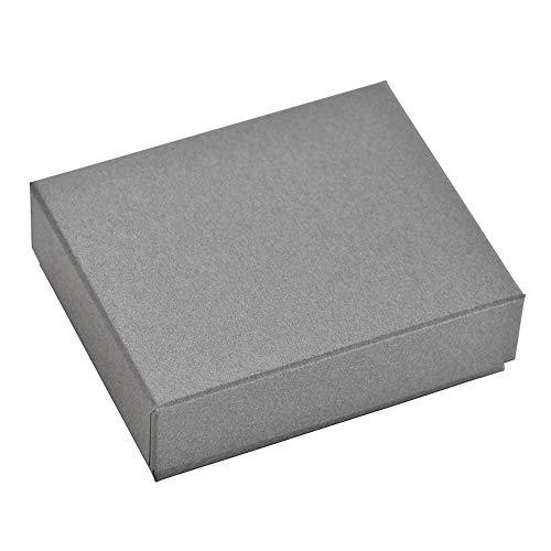 だいし屋 日本製 36色のギフトボックス〈3.グレー50〉92×72×28mm (黒スポンジ入り, 1個) B130
