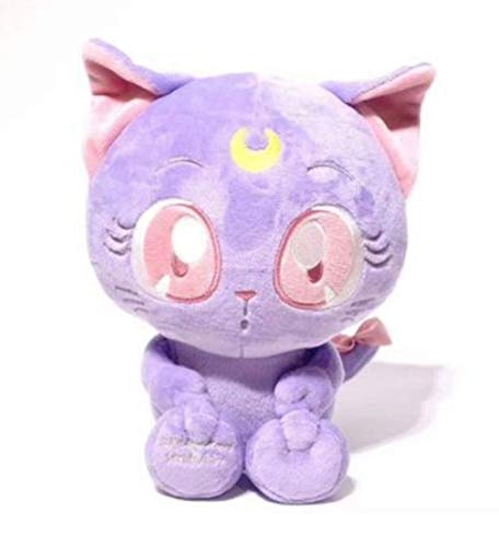 Sailor Moon Plush toy Cat Luna Doll 15cm Cartoon Anime Plush Pendant Purple Animal Cute Doll Decoration Niños