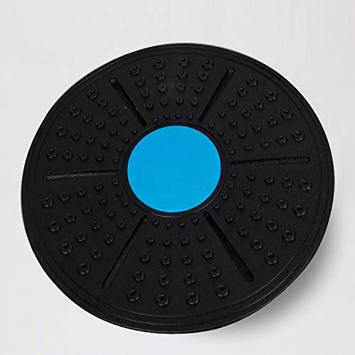 Balance Board Deluxe Wackelbrett Für Physio-Therapie-Kreisel-Training; Trainiert Gleichgewicht Und Koordination Durchmesser 36Cm Bis Zu 300Kg