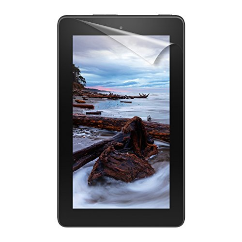 "NuPro Fire 7 Screen Protector Kit (7"" Tablet), 2-Pack, Clear—Compatible with 9th Generation (2019 Release)"