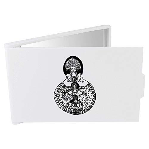 Azeeda 'Poupée Russe Motif' Miroir Compact / de Poche (CM00009811)