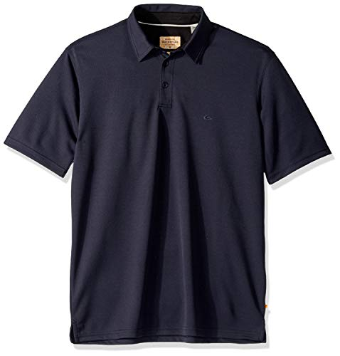 Quiksilver Herren Water 2 Polo Shirt Poloshirt, Blau (Parisian Night), Klein
