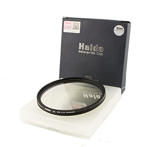 HAIDA Slim Pro II MC Optical GND Verlaufsfilter 0,9 (8X) (12,5%) - 72mm - inkl. Cap