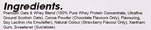 Bodybuilding Warehouse Premium Oat Whey Protein Powder - Meal Replacement Shake 4kg - Strawberry