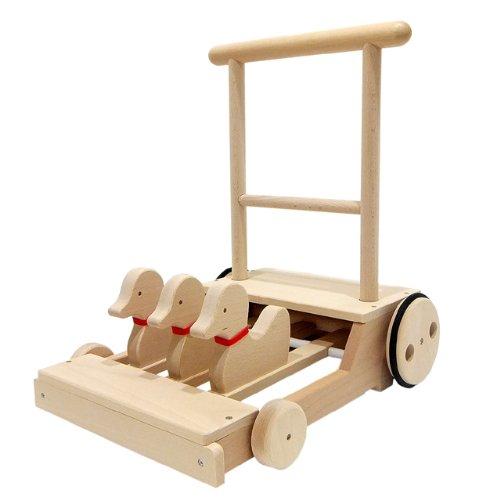 木製押し車カタカタ