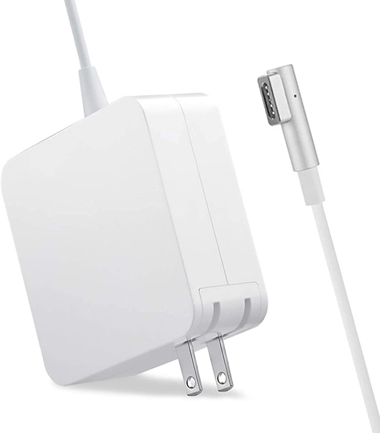 Book Pro Charger 85W L-Tip Power Adapter Charger Cord for Old MaBook Pro 15-inch and 17-inch (Before Mid 2012 Models)