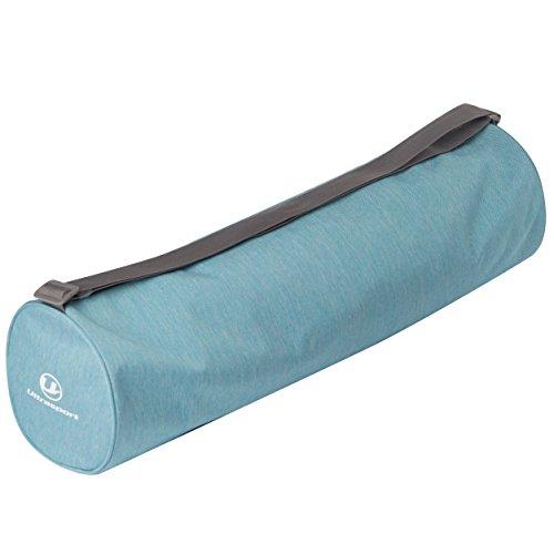 Ultrasport Bolsa para esterilla de yoga grande, en la bolsa cabe una esterilla de yoga enrollada y objetos pequeños, con cremallera extralarga, fantástico diseño en azul