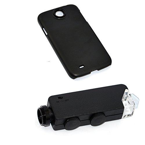 Apexel Mikroskop-Aufsatz für Handys, 50cm Brennweite, Aluminium Für Samsung Galaxy S4 I9500 100X