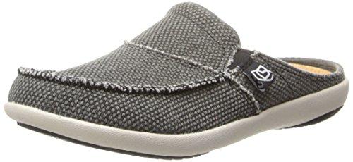 Spenco Women's Siesta Slide Mule, Charcoal Grey, 6 M US