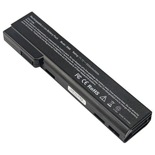 ASUNCELL CC06 Laptop Battery Compatible with HP EliteBook 8470w 8460p 8460w 8470p 8560p 8570p 6360b 6460b 6465b 6470b 6475b 6560b 6565b 6570b 628664-001 628668-001 CC06X 6360t Mobile Thin Client