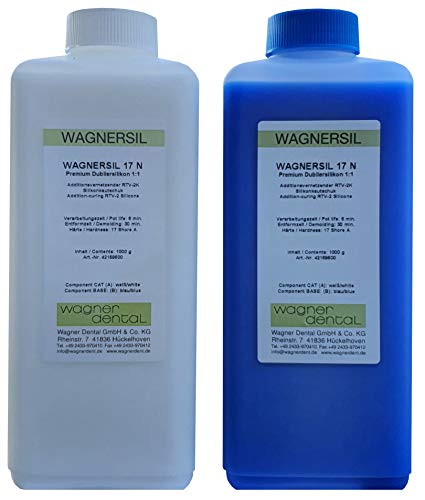 Wagnersil 17 N Premium Silicone de duplication (souple) 2 kg