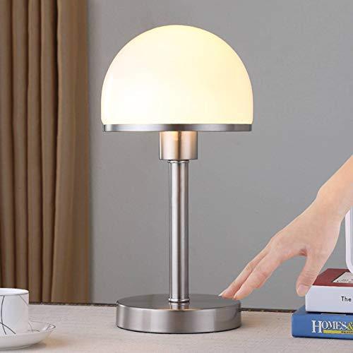 Lindby Tischlampe 'Jolie' (Modern) in Weiß aus Metall u.a. für Schlafzimmer (1 flammig, E27, A++) - Nachttischleuchte, Schreibtischlampe, Nachttischlampe, Schlafzimmerleuchte