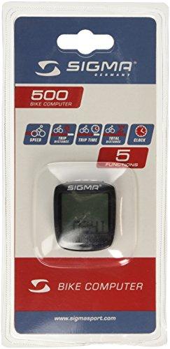 Prophete Sigma Sport 500 Fahrrad-Computer, 117