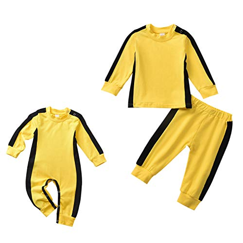 Aalizzwell Toddler Baby Romper Jumpsuit Outfit PJS for Kids Onesies Matching Outfits Winter Clothes (Romper, 6-12Months)
