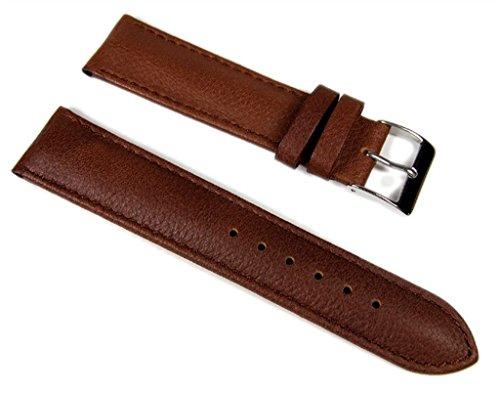 Lucca Ersatzband Uhrenarmband Kalbsleder 22mm 716022S