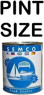 OnlineTeakFurniture Semco Teak Wood Natural Finish Sealant Protector Sealer Waterproofing (Pint Size)