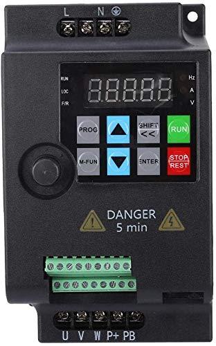 Inversor VFD, 0.75/1.5/2.2KW 220V / 380V 1HP / 3HP Inversor transformador VFD inversor controlado(220VAC 2.2KW)