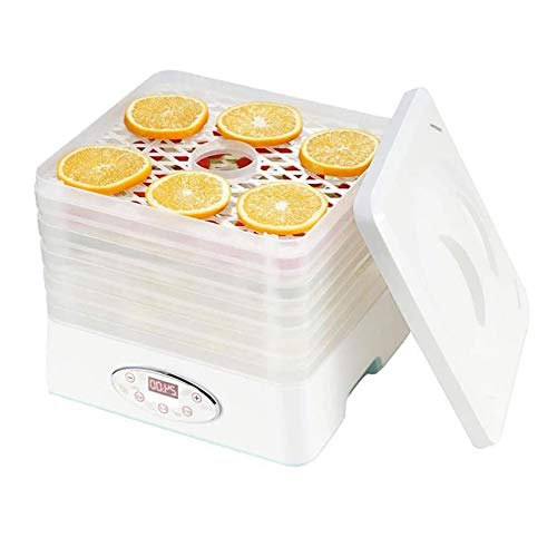 Fantastic Deal! SMLZV Food Dehydrator Machine - for Jerky/Meat/Beef/Fruit/Vegetable,5 Layer Large Ca...