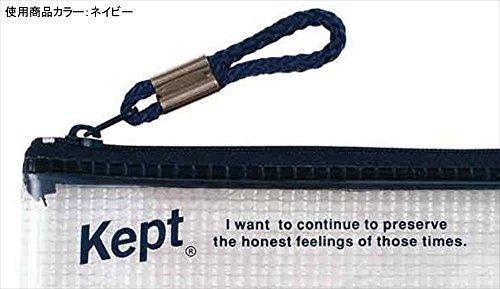 『レイメイ藤井 ペンケース Kept クリア ネイビー KPF502K』の2枚目の画像