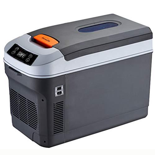 35 Litri di Grande capacità,Frigorifero per Auto Portatile, Mini Frigo Portatile Termoelettrico 12 V / 24 V / 220 V Camion Frigorifero Congelatore Cibo Congelatore (Nero)