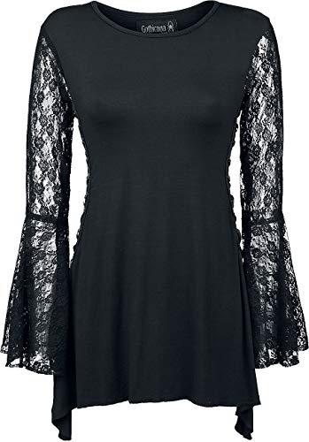 Gothicana by EMP Bat Country Frauen Langarmshirt schwarz XL 95% Viskose, 5% Elasthan...