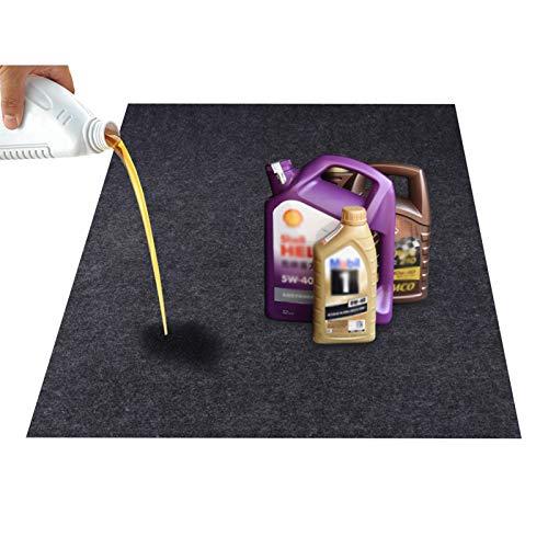 KALASONEER Oil Spill Mat Absorbent Garage Floor Mat