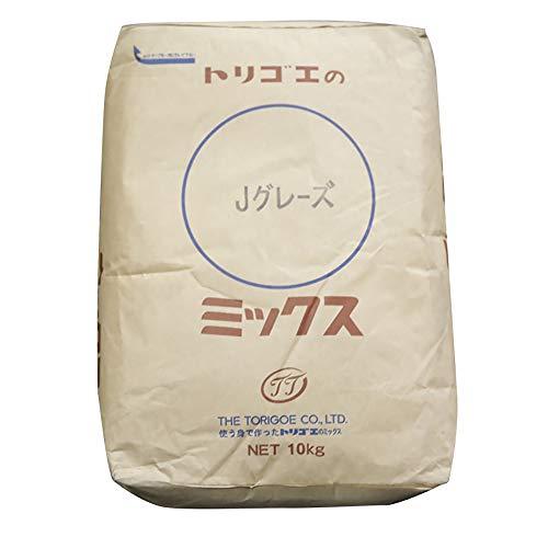 【 製パン用 】 鳥越製粉 トリゴエ の Jグレーズ ミックス 10kg 業務用 ミックス粉 ドーナツ 仕上げ用 グレーズミックス