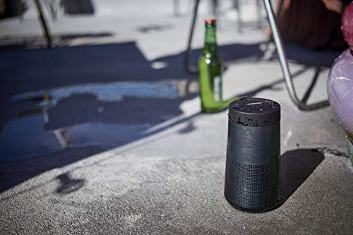 the bose soundlink revolve, the portable bluetooth speaker with 360 wireless surround sound, triple black & bose…