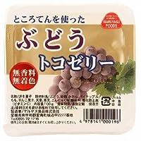 マルヤス食品 トコゼリー ぶどう 3.76kg(入数:130g×24個)×1ケース         JAN:4978141000196