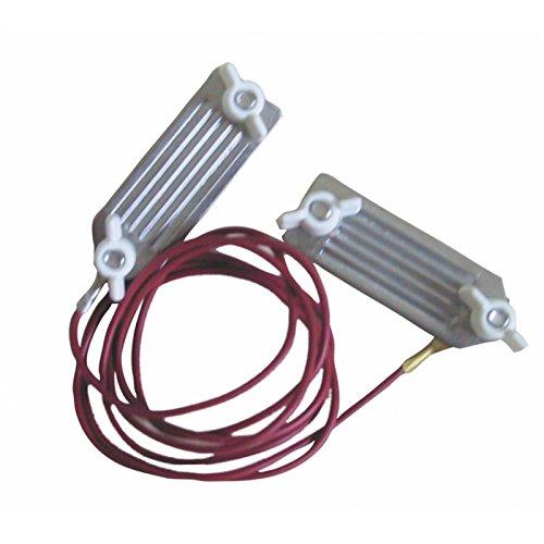 1x C/âble de raccordement cl/ôture VOSS.farming 100 cm connecteur en forme de cour et extr/émit/é de c/âble /étam/ée