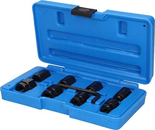 BRILLIANT TOOLS BT542000 Juego de extractor de pernos, Con caja azul estable, 9-Tlg