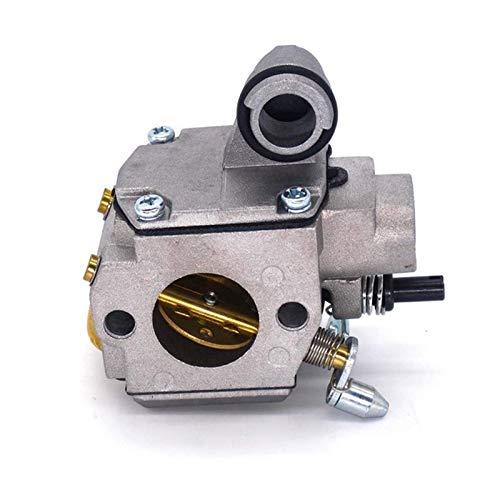 UGUTER Go Kart Carburetor Carburador FIT FOR para MS341 MS361 Reemplazo de Motosierra de 2 Tiempos para Zama C3R-S236 11301200610 Carburador 125cc (Color : Silver)