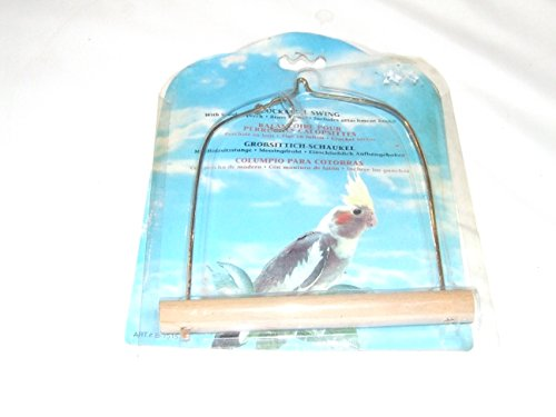 Calopsittes Bird Swing Nouvel Emballage porté