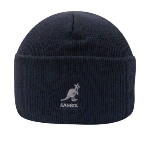 Kangol Acrylic Cuff Pull-On Gorro de Punto, Dark Blue, Talla Inglesa: Talla única para Hombre