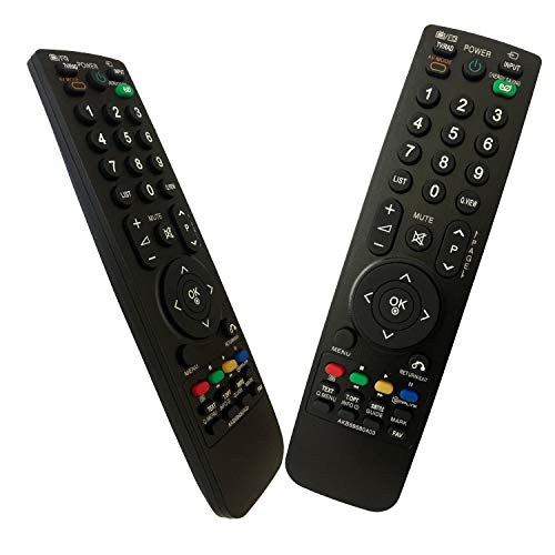 iLovely Nuevo Mando LG AKB69680403 Mando a Distancia para LG Universal TV 32LH4020 37LF2500 37LF2510 37LG2100 37LH2010 37LH20D 37LH3000 37LH3010 37LH3040 37LH35FD 37LH301C 42LF2500