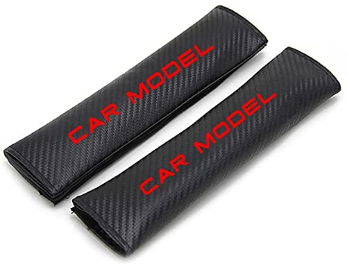 2 Piezas Coche Seguridad Cinturón Protectoras Fundas Almohadillas Para Opel ASTRA, Proteger Cuello Hombro Suave Fibra Carbono Auto Interior Accesorios