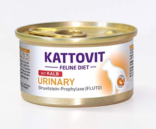 Kattovit kattenvoer urinaire kalf 85 g, verpakking van 24 (24 x 85 g)