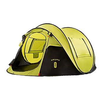 Zenph Tente Camping pour 2-3 Personnes Automatique, Pop Up Ouverture Rapide Tente instantanée Camping Randonnée Familiale Exterieur Sun Shelter