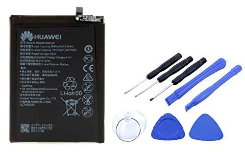 Batteria per Huawei Mate 20 Lite / P10 Plus | Batteria agli ioni di litio da 3750 mAh con set di attrezzi