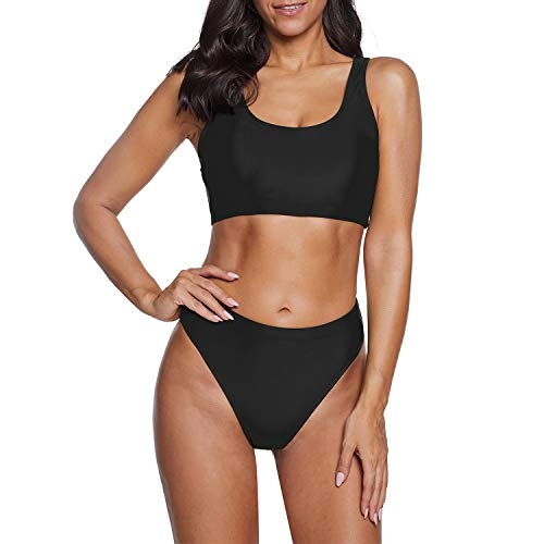 Zando Womens Swimsuits Athletic Two Pieces Bathing...