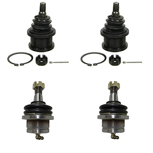 Detroit Axle - 4pc Front Upper & Lower Ball Joint for 1997-2002 Ford Expedition - [1997-2003 Ford F-150] - 1998-2002 Lincoln Navigator