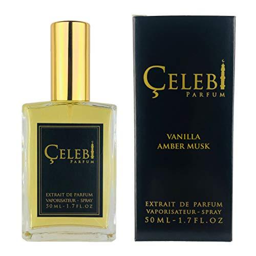 Celebi Parfum Vanilla Amber Musk Extrait de Parfum 30% Unisex Spray 50 ml