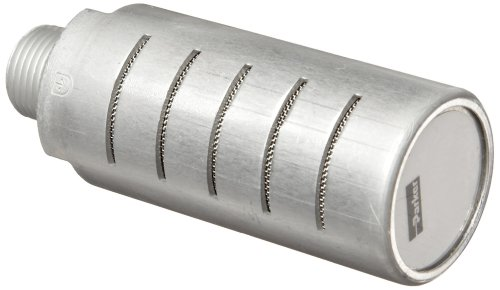 Parker ES50MC Aluminum Exhaust Silencer, 1/2