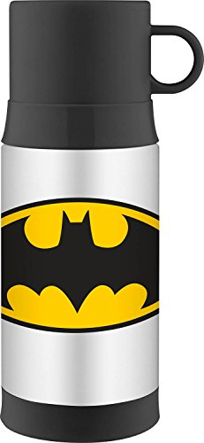 Thermos 16 ounce Funtainer Warm Beverage Bottle, Batman