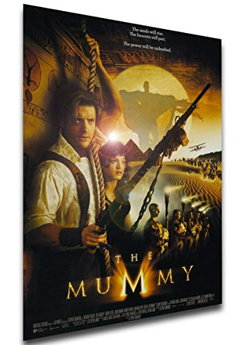 Instabuy Poster Locandina - Brendan Fraser - The Mummy - La Mummia (1999) A4 30x21cm