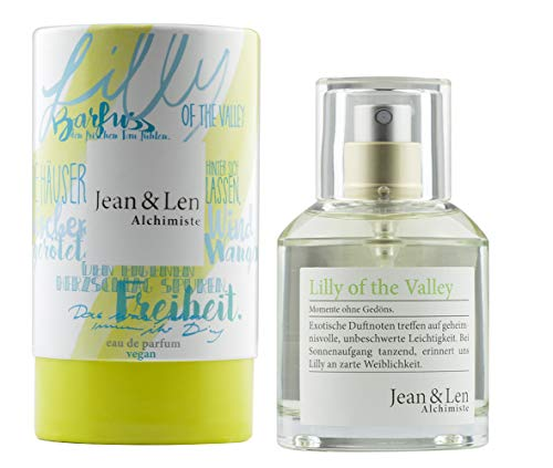 Jean & Len Damenduft Lilly of the Valley, Parfüm für Damen, Eau de Parfum, Duftnoten: natürlich, harmonisch, romantisch, optimistisch, 50 ml, 1 Stück, 2902101304