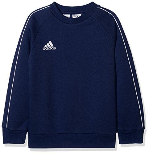 Adidas CORE18 SW Top Y Sudadera, Unisex Niños, Azul (Dark Blue/White), 128
