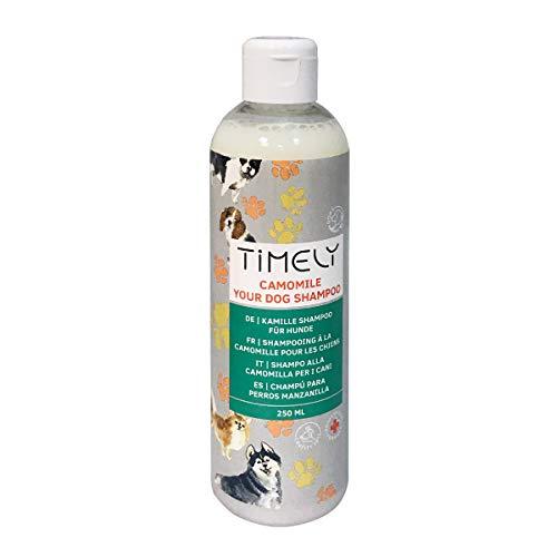 Timely, shampoo per cani con camomilla per pelo secco, 250 ml