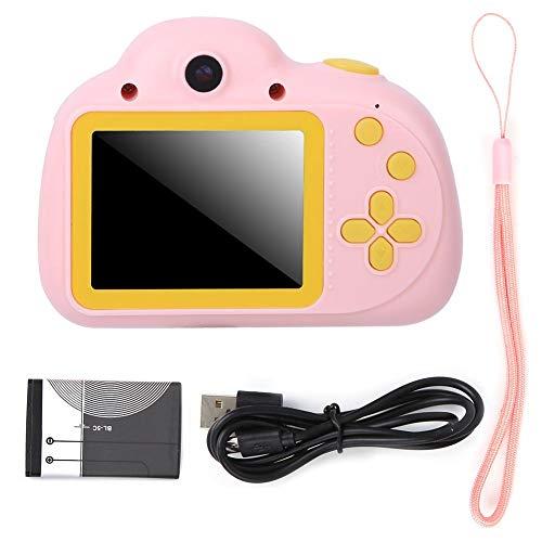 Kinderen Camera Toy Camera 1080P 2.4in TFT-scherm Multifunctionele digitale camera met ingebouwde batterij voor kinderen Kid Gift(roze)